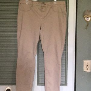 Pants - So high rise jegging size 17.